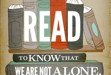 Read Books / I love books.  I cannot fully embrace the movement toward digital because there is something special about looking at your collection of books. / by Marie McCrary