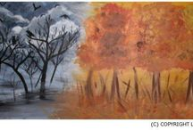 Lisa Little Art Paintings / Original Lisa Little Art Paintings / by Lisa Little