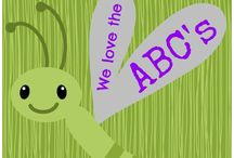 """Class Act"" Alphabet / by Jenna Barrett"