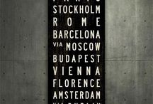 Places, Cities and Countries  / by Terry Ivan