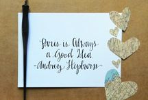 Calligraphy, Typography & Letters {Amanda} / by Amanda Peterson