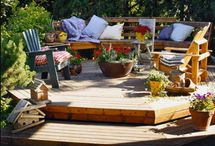 Outdoor Spaces / by Pamela Trunk