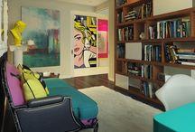 Pop Art Interior Design / by Metty Design