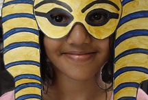 egypt / A collection of Ancient Egypt Activities for kids to do. This ranges from printables to crafts. / by Cassie Osborne (3Dinosaurs.com)