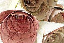 PAPER FLOWERS - FLORES DE PAPEL / by atendo