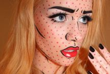 Halloween makeup / by Becky Diederich