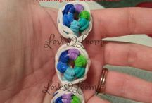 Grace's Cool Awesome Rainbow Loom and CrazyLoom Bracelets / by ScottCarla Pitts