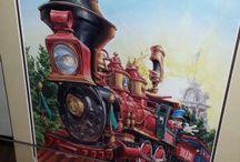 Trains / by Anamaria Garcia-Serrano