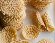 Low carb pizzelles, waffle cones, etc. / by Jan Stamm