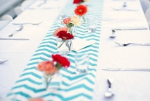 Long Table Centerpieces / We have noticed a rise in the popularity of long tables to be used at receptions and special occasions.  Take a look at some of the Pins that caught our eye! / by IWed Global