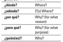 School - Spanish / by Susan Landry