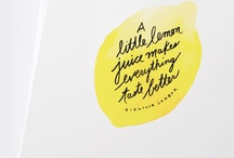 hand lettered / by Chloe Allen