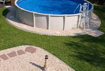Edging for Pools @ YardProduct.com / Many above ground pools needs edging around them.  Both our aluminum edging and decorative edging are good for pools and resist any damage due to chlorine, water, etc.  These edging products are easy to install and ship free to your door. / by Dreamscape: YardProduct.com