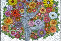Mosaic Art Ideas / by Sherilyn Craig
