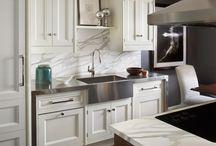 Kitchen with Calacutta Marble / by Bradley Stone Industries