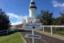 Byron Bay Lighthouse weddings / Byron Events  -www.byronevents.com.au / by Byron Events