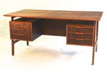 DESKS  / Vintage desks. #gunni omann #arne jacobsen #desks / by VAMPT VINTAGE DESIGN
