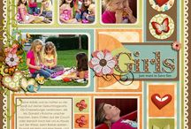 scrapbooking: pages / by Paige Hambrook