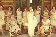 Bridesmaid dresses and guys wear / by Erin Carraher