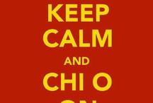 Chi O <3 / by Taylor Pence