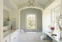 Interiors:  Master Baths / luscious master baths / by Kellie Smith Design Studio
