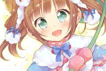 anime girl :3 / by Valentina Neko girl