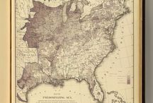 Historic Maps / Here's some historic maps that can help you as you conduct #genealogy and #history research. / by Gena Philibert-Ortega