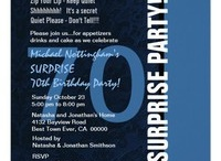 Birthday Parties - SURPRISE - 70th Surprise Birthday Party! / by JaclinArt