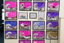 ART: HOKUSAI & HIROSHIGE / by Tess Davis
