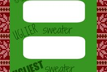 Ugly Christmas Sweater Party / Ugly Christmas Sweater Party Ideas. / by Julia Bettencourt