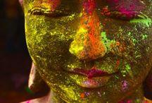 ".: C O L O R :. / ""Because she chooses to see the world in bright, bold colors"". / by H E A T H E R - S T E P H E N S O N  (M C C L U R E)"