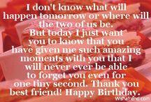 Happy Birthday / by Jillian Shepard