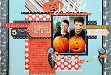holiday scrapbook pages / by Heather Oakes