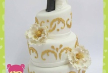 my wedding cakes / by Moni Rokach
