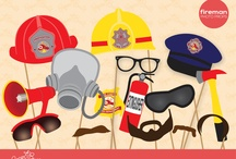 Firefighter Birthday Party Ideas / by jkwdesigns