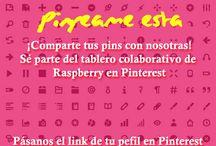 Pinpeame esta / Pins de nuestras lectoras (seguidoras, fans) raspberrianas.  / by raspberry magazine