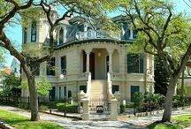 I love Houses / I love houses, especially Victorian houses.  I also love them with the wrap around porch, so you can have a porch swing. / by Jeanni Mason