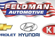 Our Cars, Trucks and SUVs / #FeldmanAutomotive has metro Detroit's largest collection of #Chevrolet, #Hyundai and #Kia vehicles.  Whether you're looking for new or used, we've got it all! / by Feldman Automotive