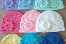 Crochet hats and headbands / by Valerie Gentry