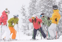 Skiing & Winter  / With four world-class mountains within the area, Aspen boasts the most diverse selection of terrain and on-snow experiences in Colorado. The best part is: A ski pass is valid at all four of our mountains! / by Aspen Colorado