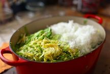 Zucchini-Pepper Relish / by Corinne Gaudet