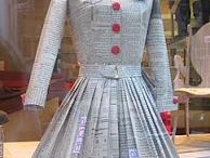 paper dress / by Peggy Ann