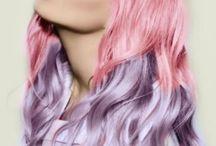 cabellos  de colores / by dennys del rio