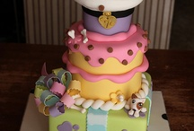 cakes!!!!!!!!!!!!!!! / by Shelby McNamara