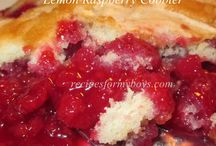 Cobblers and Pies / by Debi Recipes For My Boys