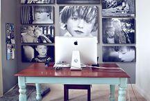 Telecommuting home office / by Jennifer Bigler