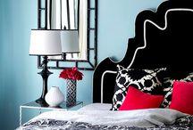 bright bedroom / by Catherine Hall Studios