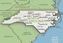 North Carolina / by Peggy Parker
