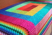 Crochet blankets, squares, and motifs / by Roxann Conger