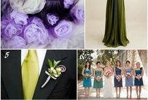 color combinations / by Rustic Wedding